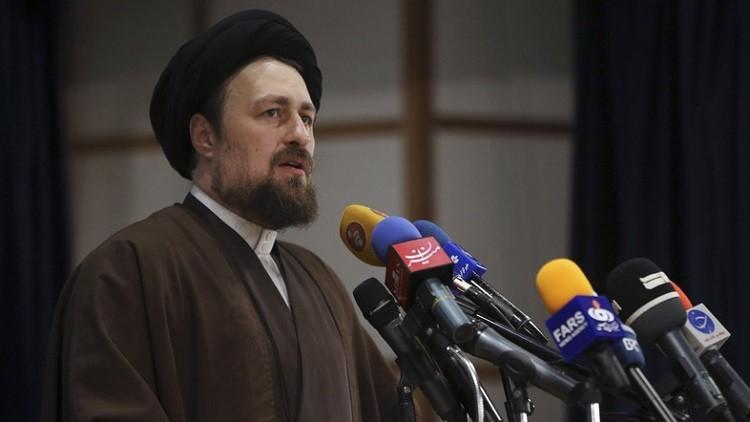 تأكيد استبعاد حفيد الخميني من انتخابات مجلس الخبراء الإيراني