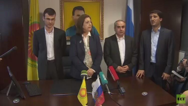 افتتاح ممثلية لأكراد سوريا في موسكو