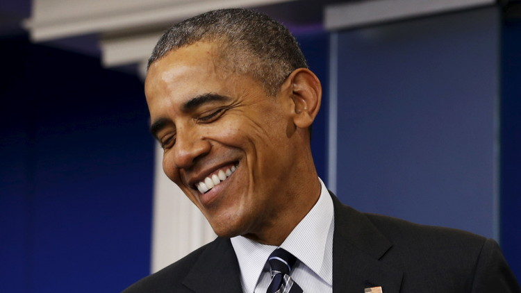 أوباما يكشف عن ضعف شبكة الواي فاي في البيت الأبيض