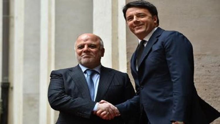 العبادي يشكر إيطاليا على تدريب القوات العراقية