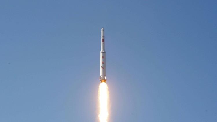 بيونغ يانغ تبث فيديو لعملية إطلاق القمر الصناعي إلى المدار