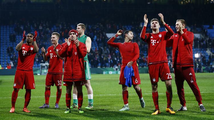 بايرن ميونيخ يواجه بريمن في المربع الذهبي لكأس ألمانيا