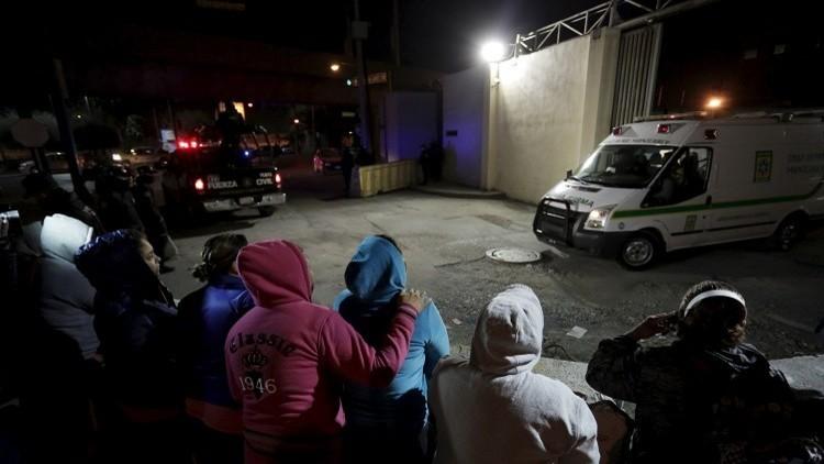 عشرات القتلى في تمرد داخل سجن في المكسيك