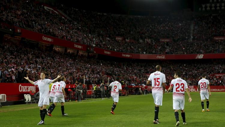 إشبيلية يضرب موعدا مع برشلونة في نهائي كأس إسبانيا .. (فيديو)