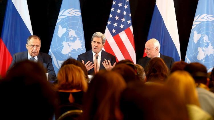 مجموعة دعم سوريا تتفق على وقف إطلاق النار وإيصال المساعدات الإنسانية