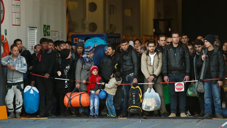 مدفيديف ينتقد بشدة السياسة الأوروبية في مجال الهجرة