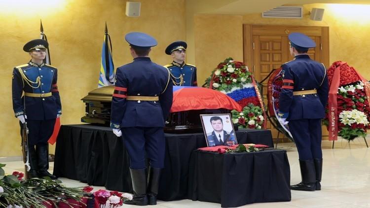إطلاق اسم الطيار الروسي الذي قتل في سوريا على قاذفة