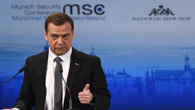 مدفيديف: ندافع عن مصالحنا القومية وليس لدينا أي أهداف خفية في سوريا