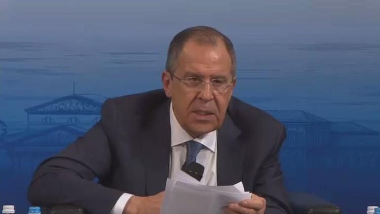 لافروف: الهدنة في سوريا ممكنة في حال التنسيق بين روسيا والتحالف الدولي