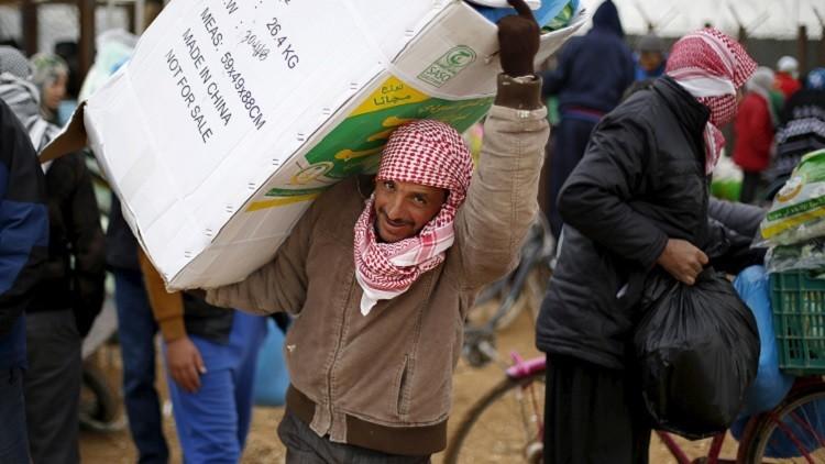 هاموند: وصول المساعدات الإنسانية إلى سوريا يبدأ في غضون يومين