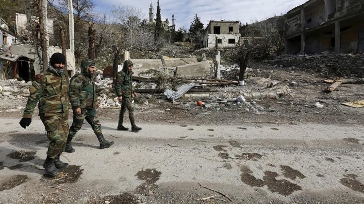 مراسلنا: الجيش السوري يسيطر على أحد التلال المشرفة على  بلدة سلمى في ريف اللاذقية