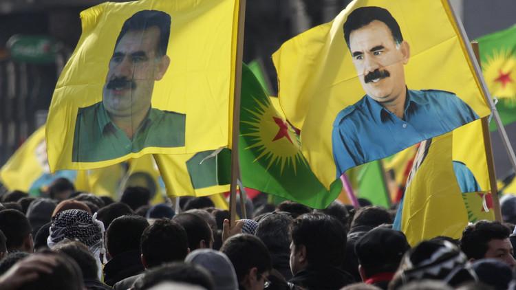 مظاهرة كردية حاشدة في فرنسا تطالب بالإفراج عن أوجلان