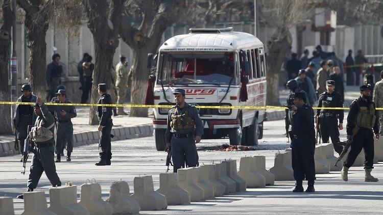 قتلى من الأمن الأفغاني في هجمات انتحارية لـ