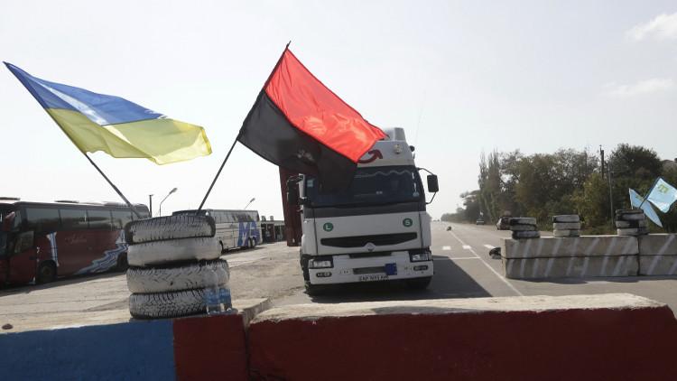 روسيا توقف حركة الشاحنات الأوكرانية فوق اراضيها