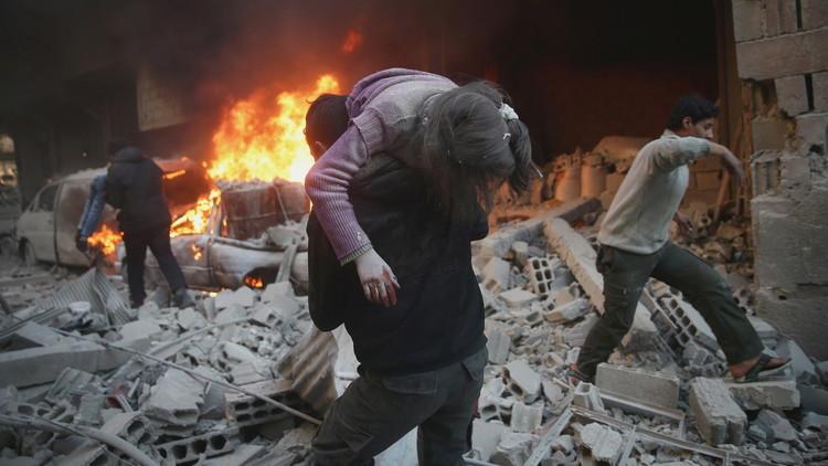 فرنسا تدعو إلى وقف فوري لجميع عمليات القصف في سوريا