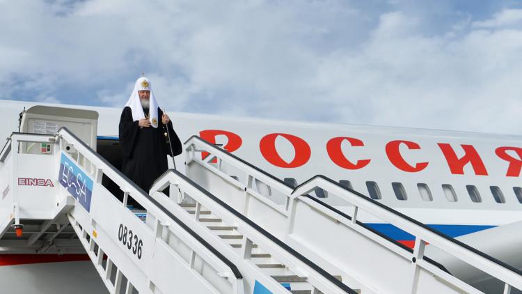 بطريرك موسكو وسائر روسيا يزور باراغواي