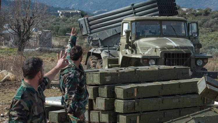 الجيش السوري يهاجم