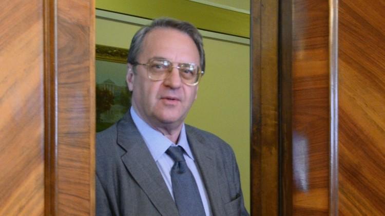 بوغدانوف: موسكو وواشنطن تنسقان صيغة فريق مشترك حول سوريا وموعد بدء أعماله