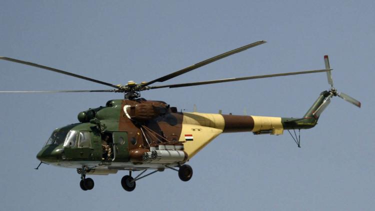 مقتل 9 عسكريين عراقيين نتيجة تحطم مروحية جنوب البلاد