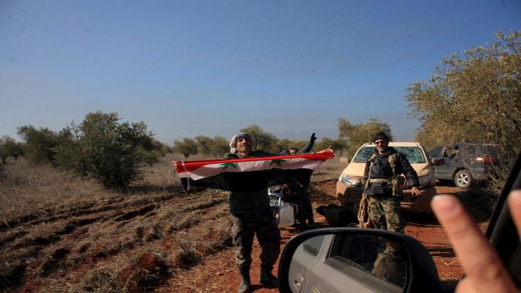 الجيش السوري يقتحم بلدة كنسبا في ريف اللاذقية