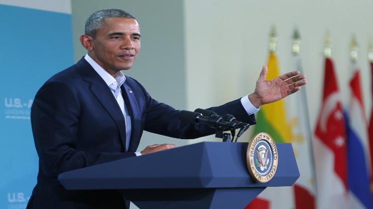 أوباما: التدخل الروسي دليل على ضعف الأسد