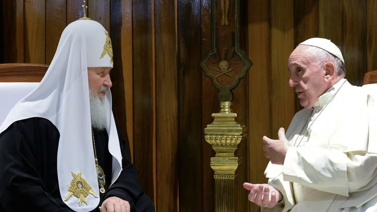 بعد لقاء كوبا التاريخي.. بطريركية موسكو تنفي التوجه لدمج الكنيستين