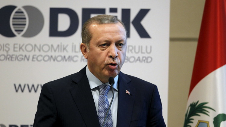أردوغان: سنواصل قصف مواقع الأكراد في سوريا
