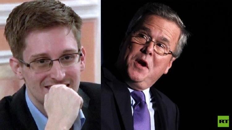 سنودن يدعو بوش الأصغر لحذف حسابه من تويتر بسبب صورة
