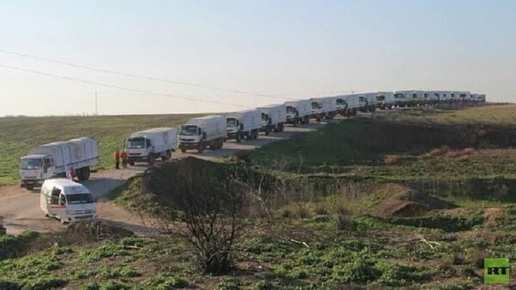 العملية الإنسانية في سوريا متواصلة دون عوائق