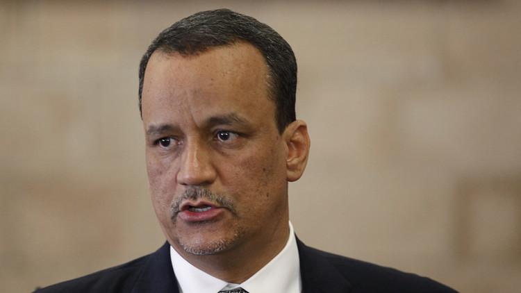 ولد الشيخ أحمد: خلافات بشأن هدنة بين الطرفين تعطل محادثات السلام اليمنية