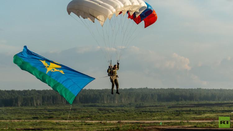 نشر كتيبة من المظليين الروس في القرم العامين المقبلين