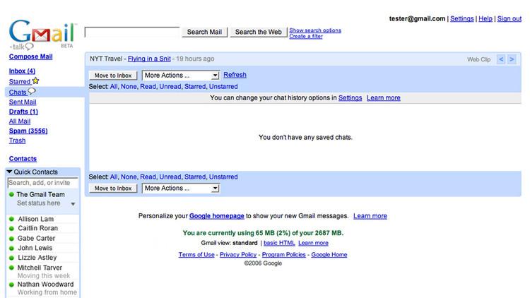 غوغل تتيح استخدام بريدها الإلكتروني من دون الحاجة إلى تسجيل