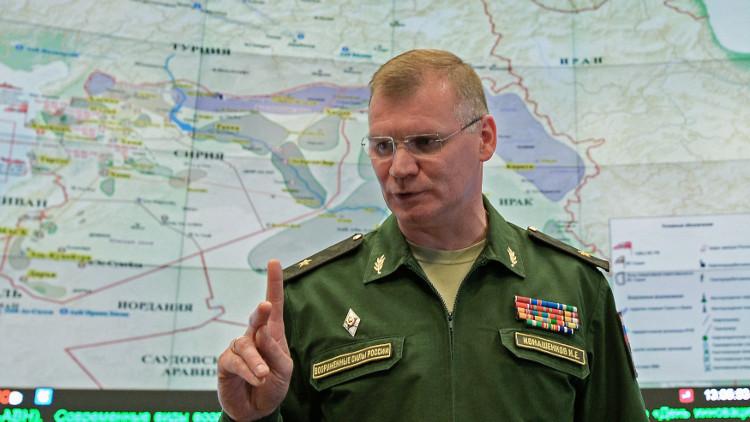 موسكو تنتقد بشدة اتهام وزير الدفاع البريطاني لها بقصف مدنيين في سوريا
