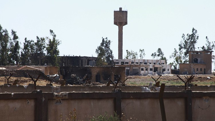 أكراد سوريا يطلقون اسم أوجلان على مطار منغ العسكري