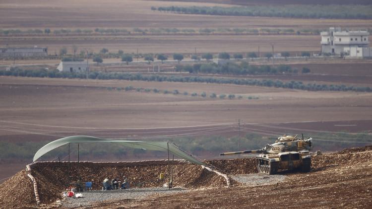 سقوط طائرة بدون طيار في قرية سورية قرب الحدود التركية