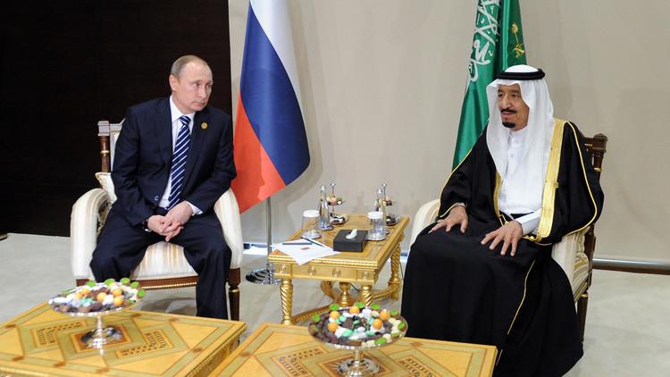 بوتين والملك سلمان يؤكدان حرصهما على أمن الشرق الأوسط