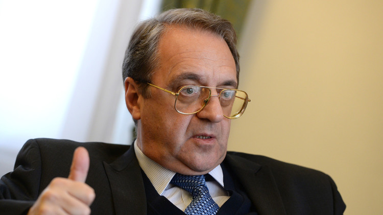 بوغدانوف: روسيا على اتصال دائم بأطراف النزاع السوري وليس على الأسد وحده الاستماع إلى النصائح