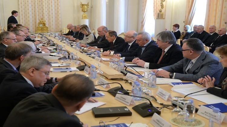 لافروف: روسيا تتعرض لحملة معاداة لاسابقة لها في الإعلام العالمي