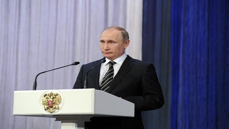 بوتين: قواتنا في سوريا تدافع عن مصالح روسيا وتحمي المدنيين