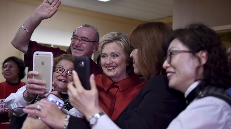 كلينتون وترامب في انتظار الحسم بعد نتائج انتخابات نيفادا وكارولاينا الجنوبية