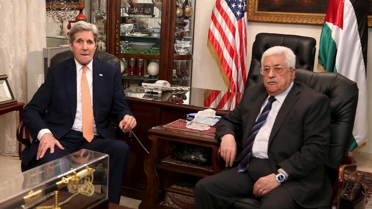 كيري: واشنطن تعتبر المستوطنات الإسرائيلية غير شرعية