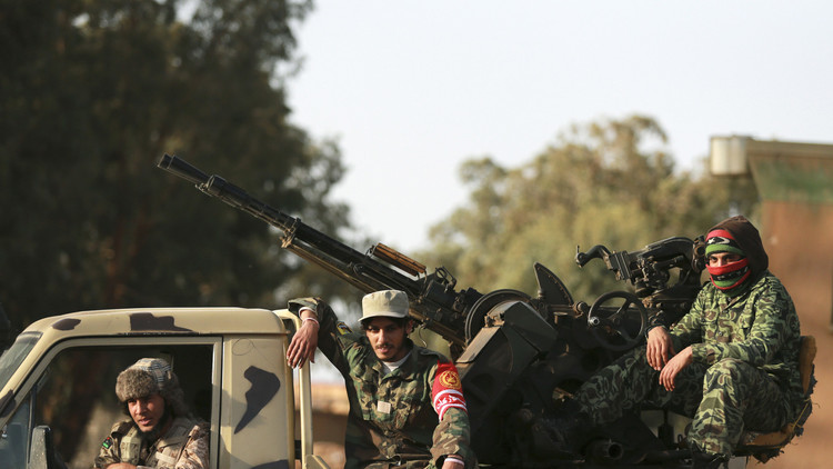 الجيش الليبي يسيطر على مدينة أجدابيا وميناء المريسة في بنغازي