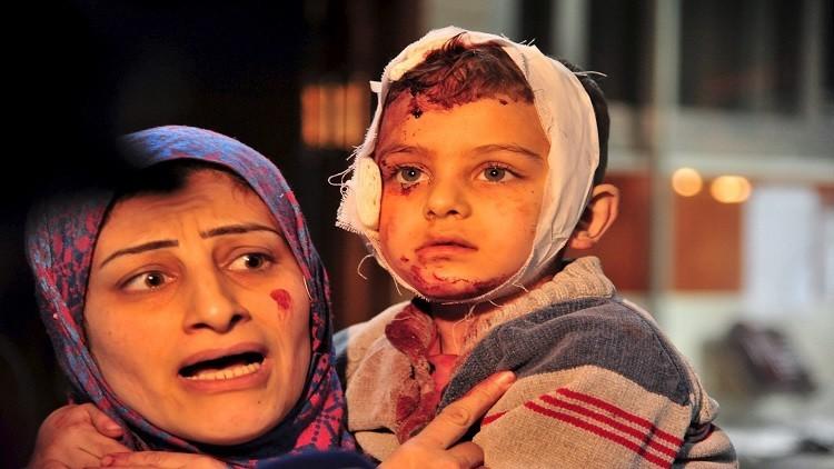 ارتفاع حصيلة تفجيرات السيدة زينب بريف دمشق إلى 120 قتيلا