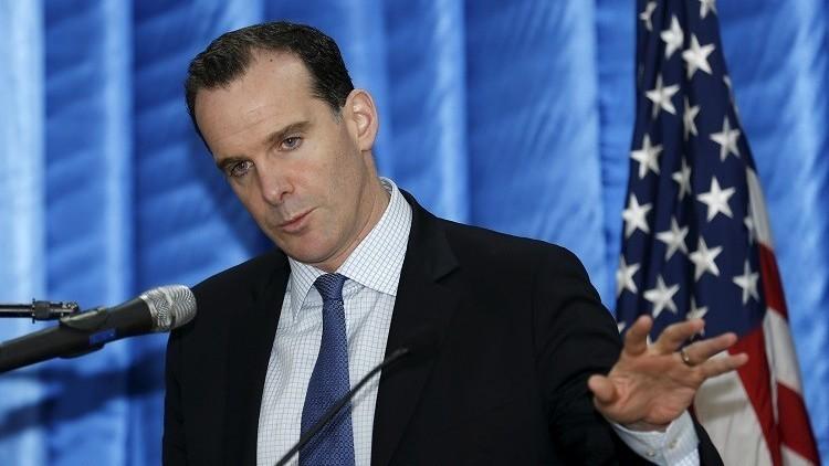 بريت مكغورك، مبعوث الولايات المتحدة لدى التحالف ضد تنظيم