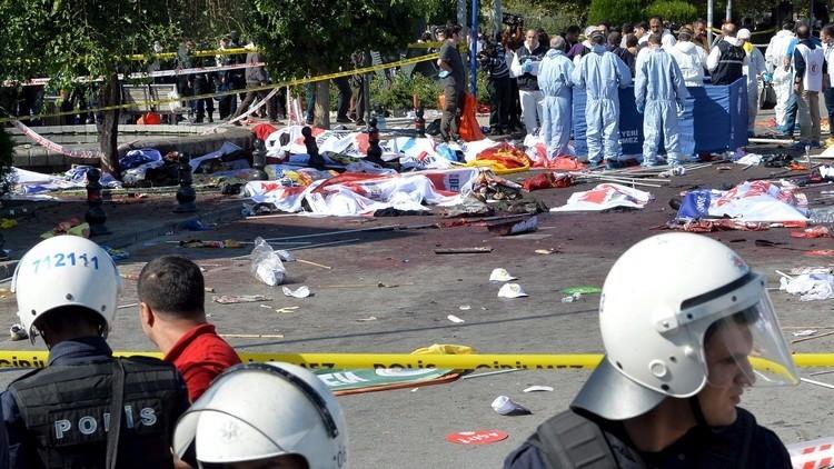 مسؤول أمني: تقرير الحمض النووي يشير إلى أن منفذ هجوم أنقرة تركي