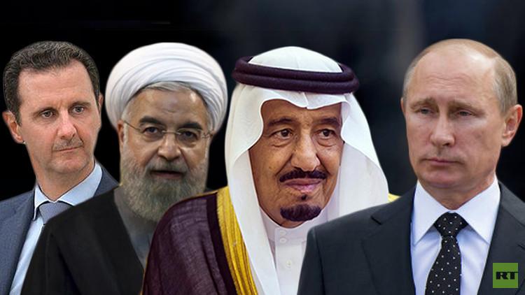 بوتين يبحث بالهاتف مع القادة الإقليميين سبل وقف إطلاق النار في سوريا