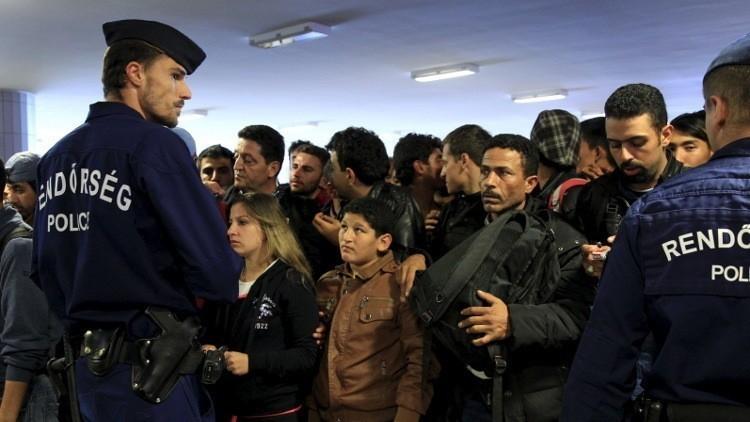 هنغاريا تدعو لاستفتاء على نظام حصص المهاجرين في أوروبا