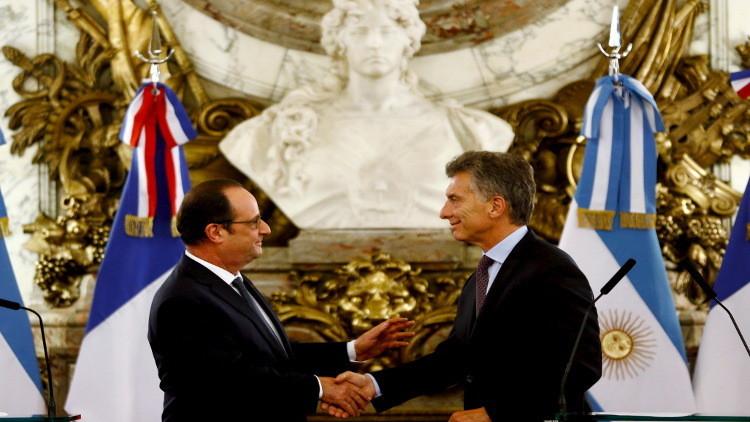 باريس تطلب من بوينس آيرس المساعدة في حل أزمة اللاجئين