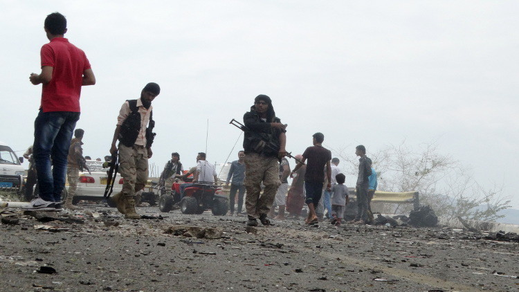 انفجار يستهدف مبنى إدارة الأمن في عدن