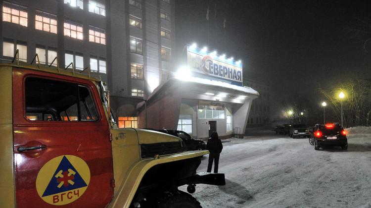 قتيلان و8 جرحى في انهيار منجم فحم شمال روسيا